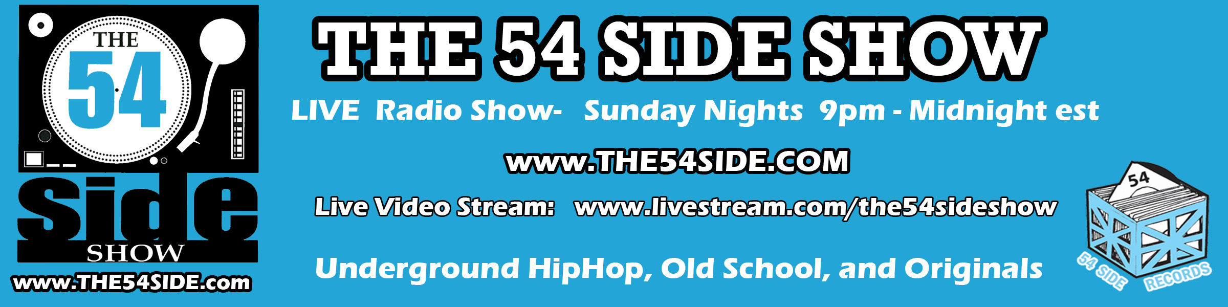 THE 54 SIDE SHOW on Livestream