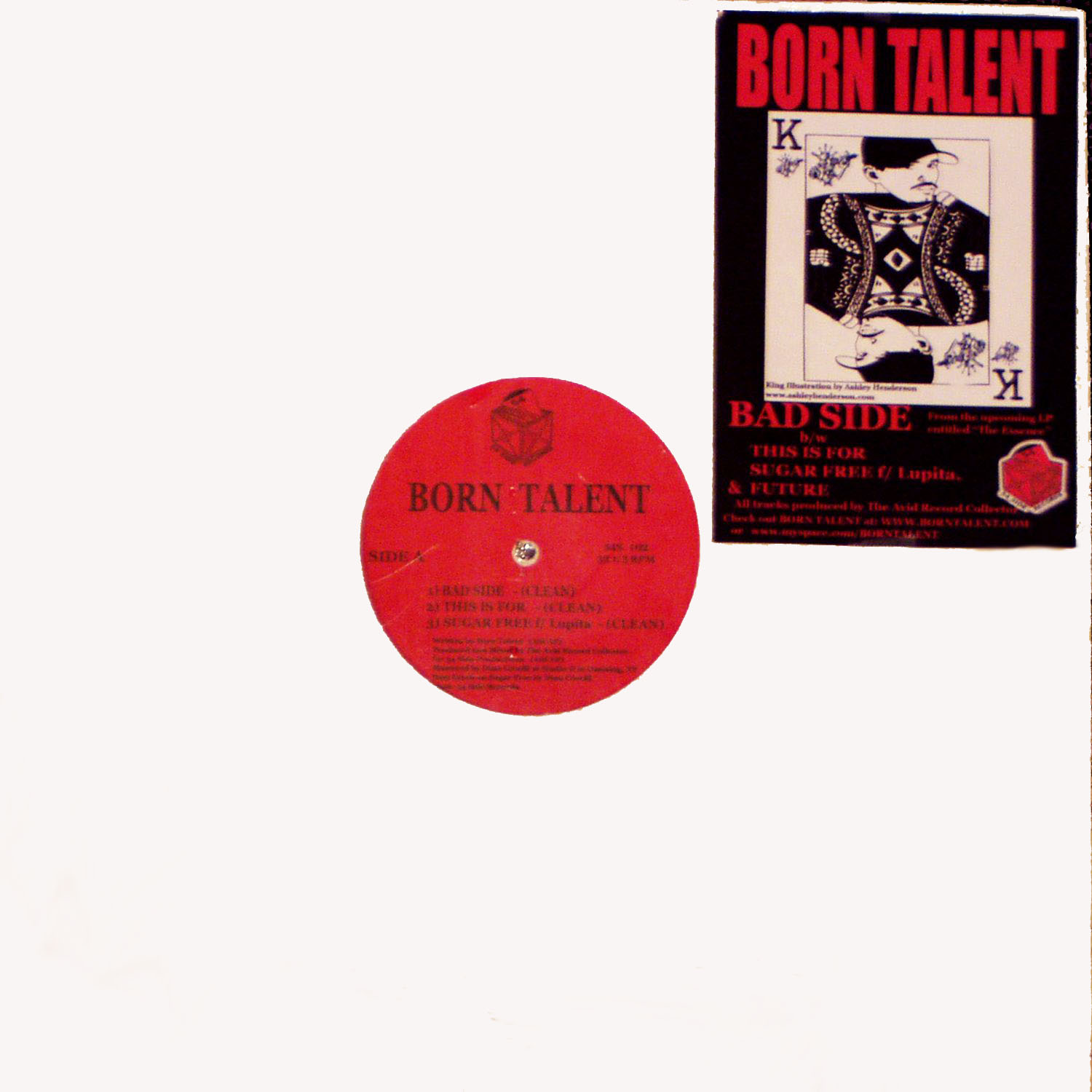 Born Talent- BAD SIDE [Vinyl]